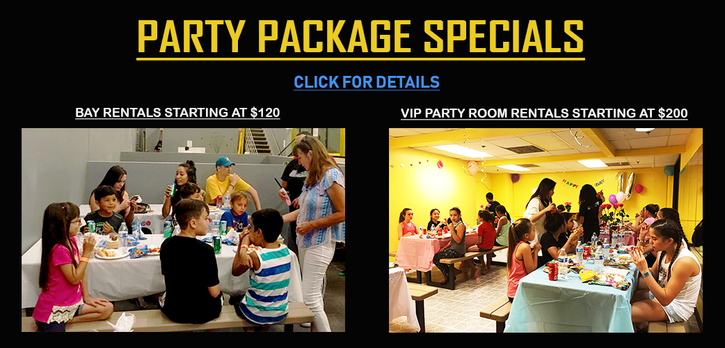 Party Bay Rental Specials