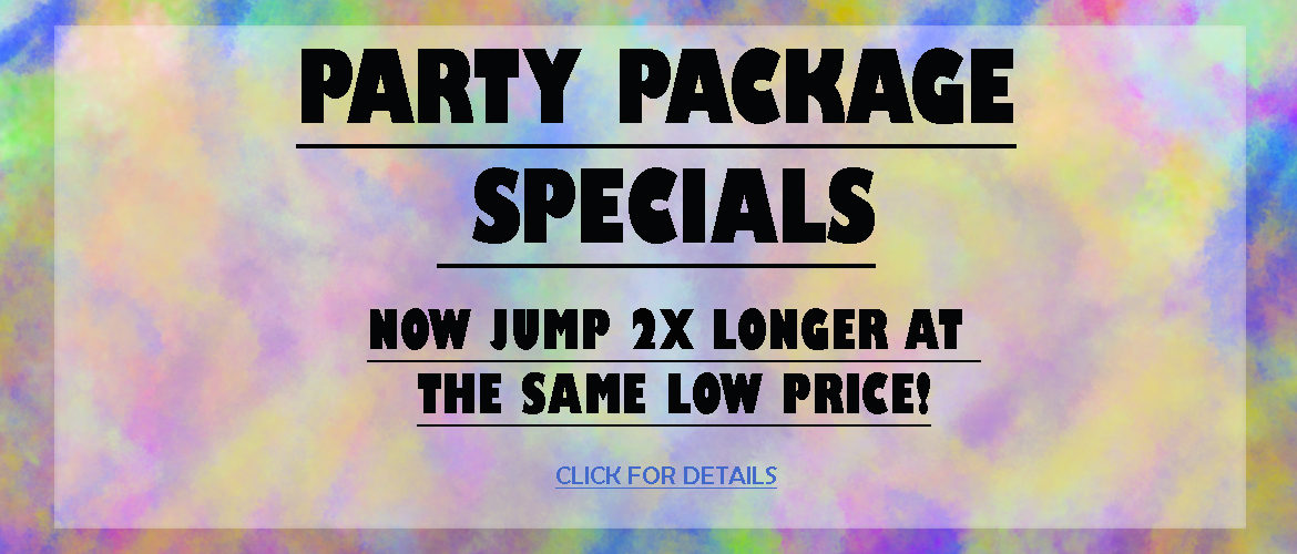 Party Package Specials